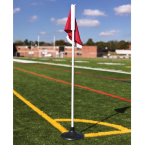 Jaypro Rubber Base Soccer Corner Flags