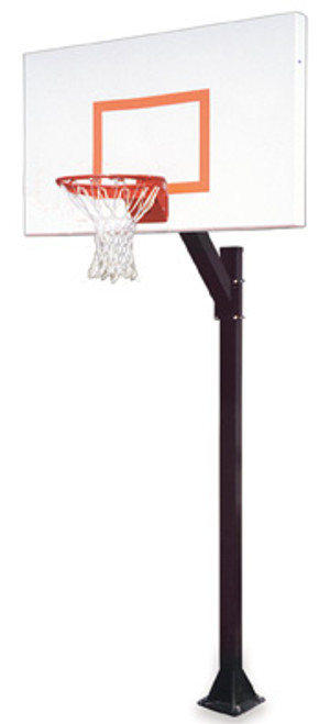 First Team Legacy Endura Inground Basketball Hoop - 60 Inch Aluminum