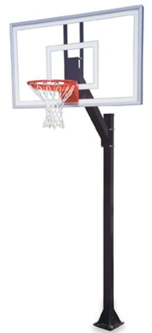 First Team Legacy Nitro Inground Basketball Hoop - 60 Inch Glass