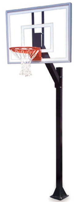 First Team Legacy Turbo Inground Basketball Hoop - 54 Inch Glass
