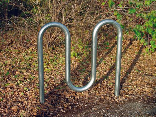 M-Shaped Bike Rack