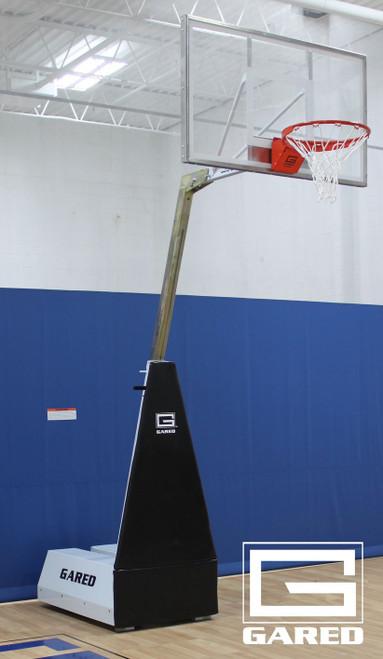 Gared Micro-Z 54 Portable Basketball Hoop - 54 Inch Acrylic