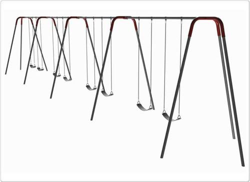 SportsPlay Modern Tripod Swing Set - Eight Swings