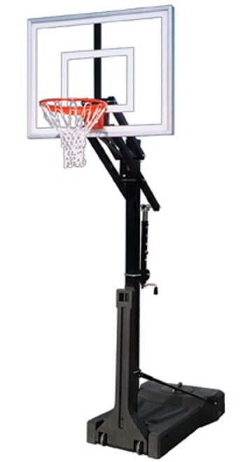 First Team OmniJam II Adjustable Portable Hoop - 48 Inch Acrylic