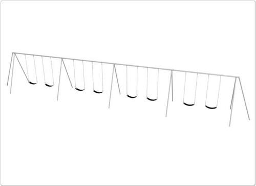 SportsPlay Primary Tripod Swing Set - Eight Swings