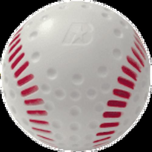 Optic White Dimpled Polyurethane Machine Baseball - Dozen