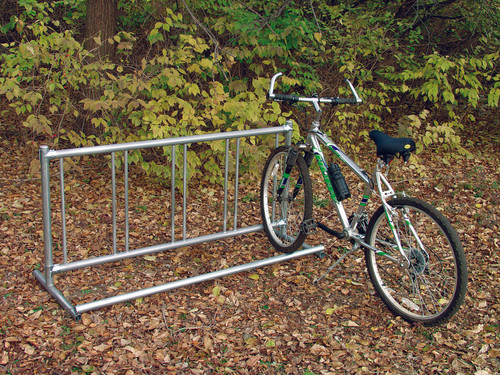 Single-Side Traditional Portable Bike Rack