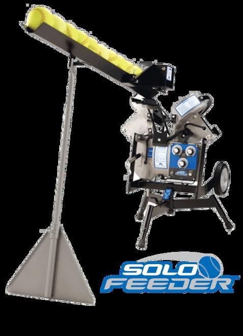 Baseball/Softball Pitching Machine Solo Ball Feeder