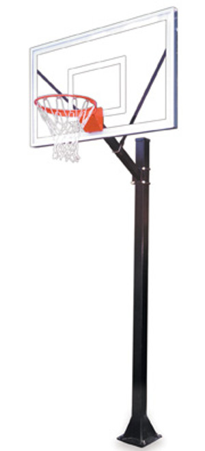 First Team Sport Select Inground Basketball Hoop - 60 Inch Acrylic