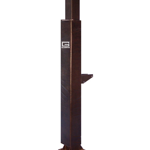 """Gared Fitted Pole Pad for 5"""" Square Poles"""