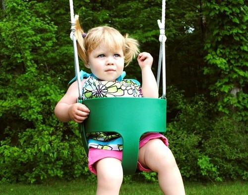Creative Playthings Toddler Bucket Swing