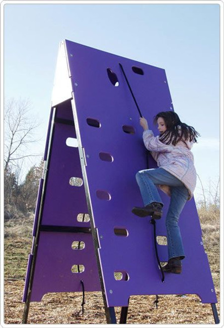 Tot Town Two Sided Climber Challenge
