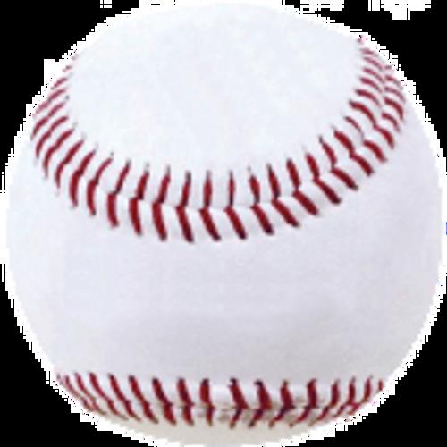 White Leather Pitching Machine Baseball - Dozen