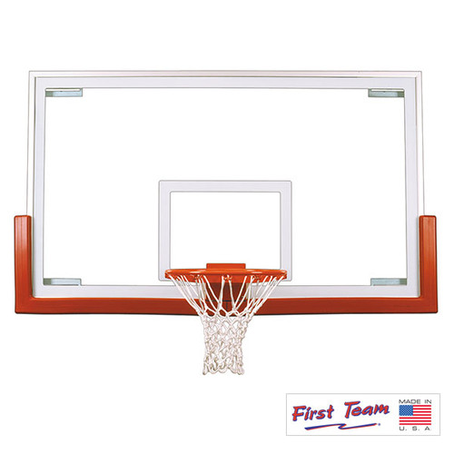 First Team FT234 Competition Glass Basketball Backboard