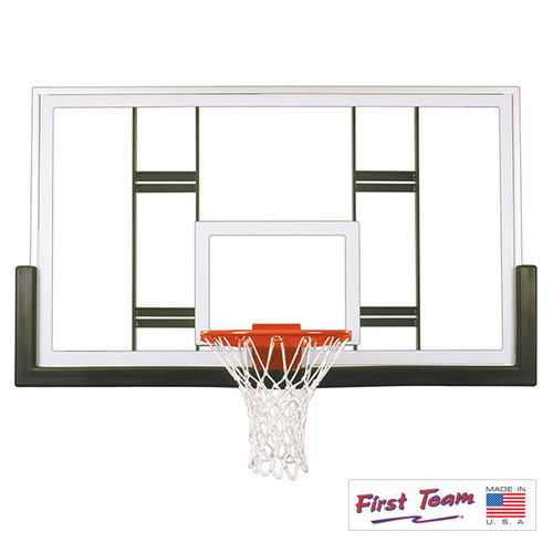 """First Team 42"""" X 72"""" Official Conversion Glass Backboard"""