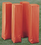 First Team Orange Weighted Football End-Zone Markers