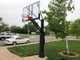 First Team Stainless Olympian Arena Inground Adjustable Hoop - 72 Inch Glass