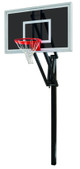 First Team Vector Eclipse Inground Adjustable Hoop - 60 Inch Smoked Glass - EXPECTED TO SHIP MID-NOVEMBER