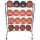 16 Ball Powder-Coated Cart