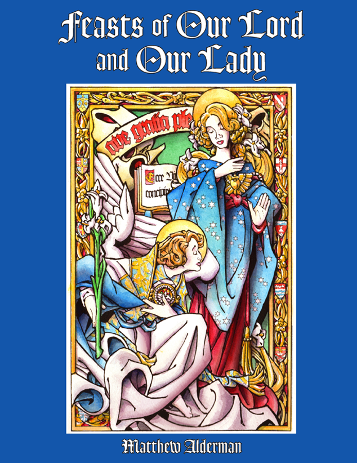 Feasts of Our Lord and Our Lady Coloring Book