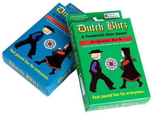 Dutch Blitz Blue and Green
