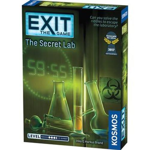 Exit Game: Secret Lab