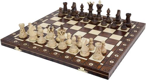 All wood Ambassador chess set