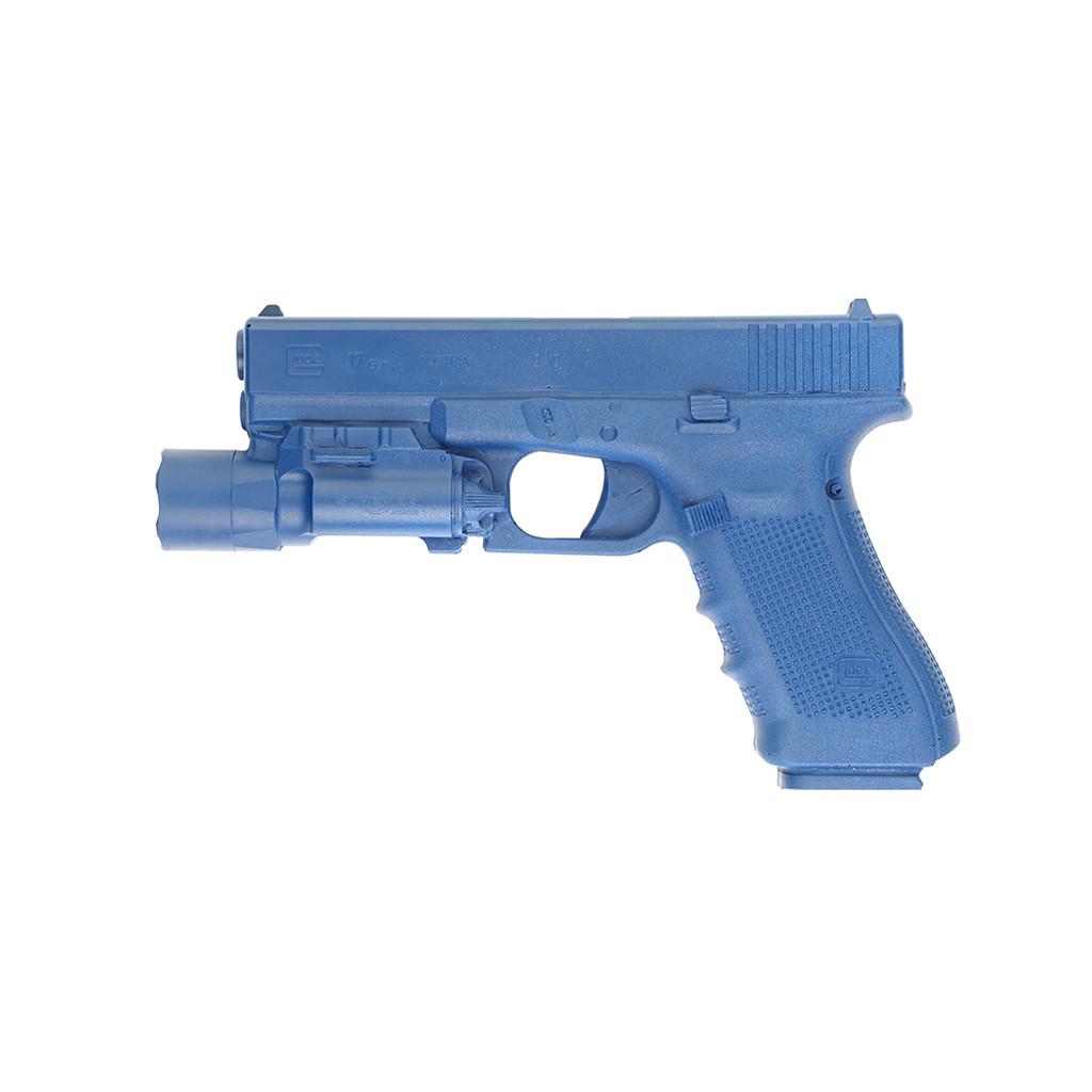 Glock 17 w/ Light | Blue Gun