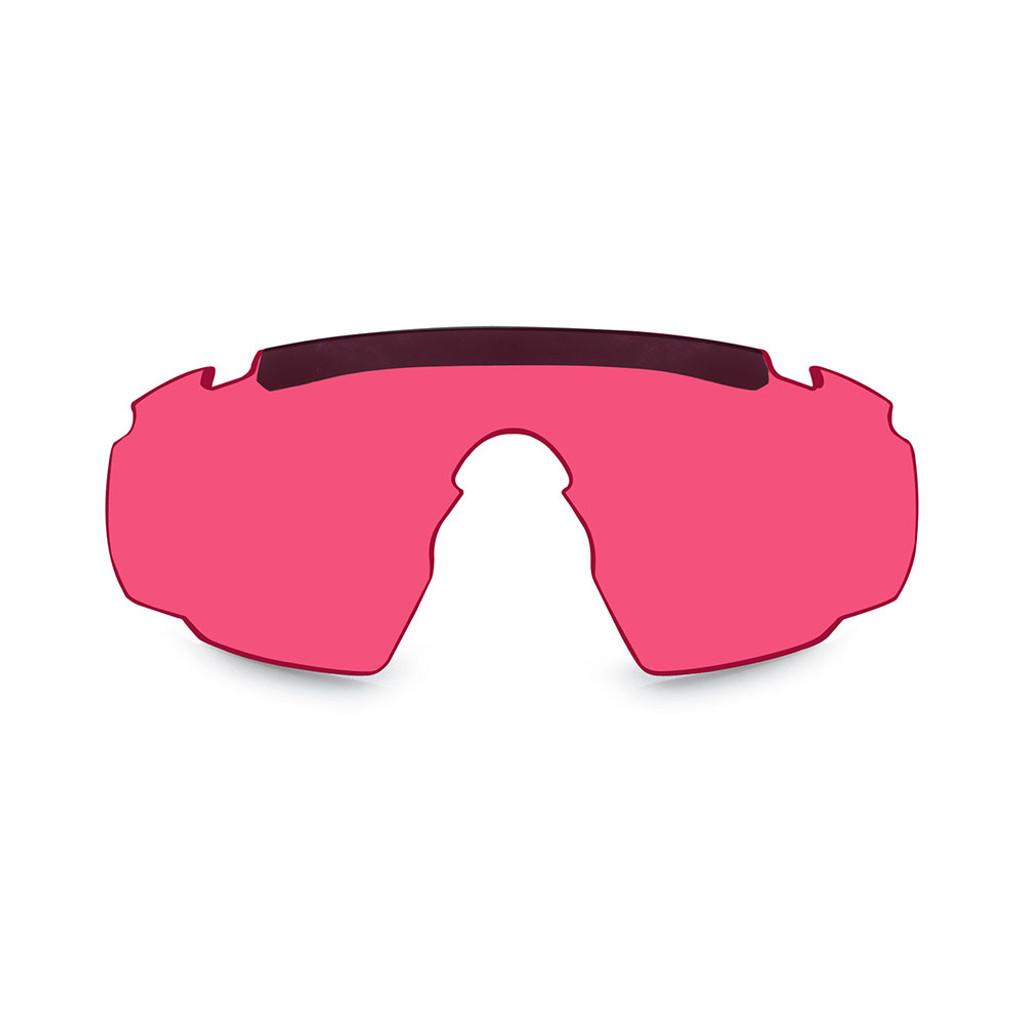 Wiley X Saber Advanced   Vermillion Three Lens w/ Matte Black Frame