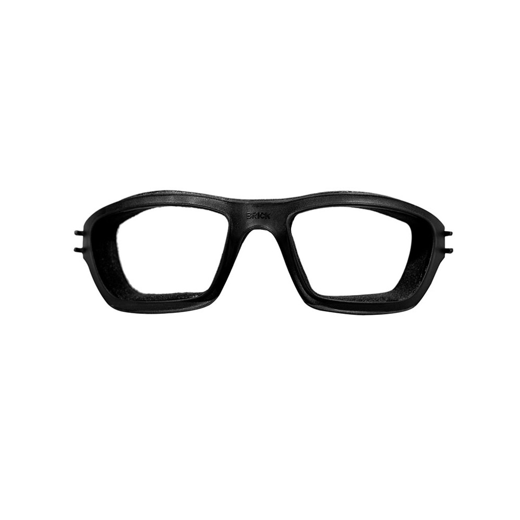 Wiley X Brick   Clear Lens w/ Matte Black Frame