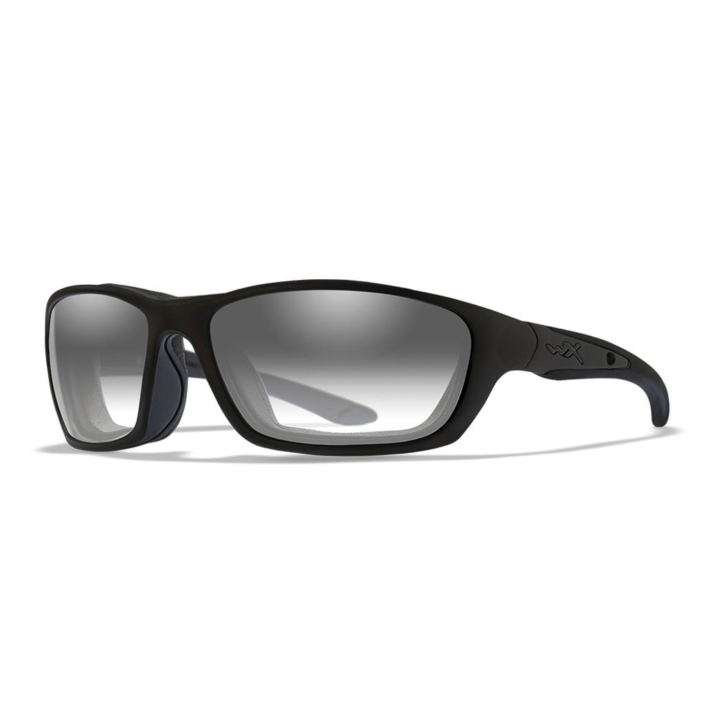Wiley X Brick | Light Adjusting Grey Lens w/ Matte Black Frame