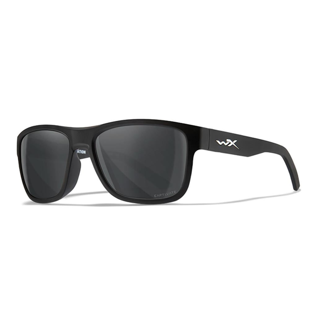 Wiley X Ovation   Smoke Grey Lens w/ Matte Black Frame