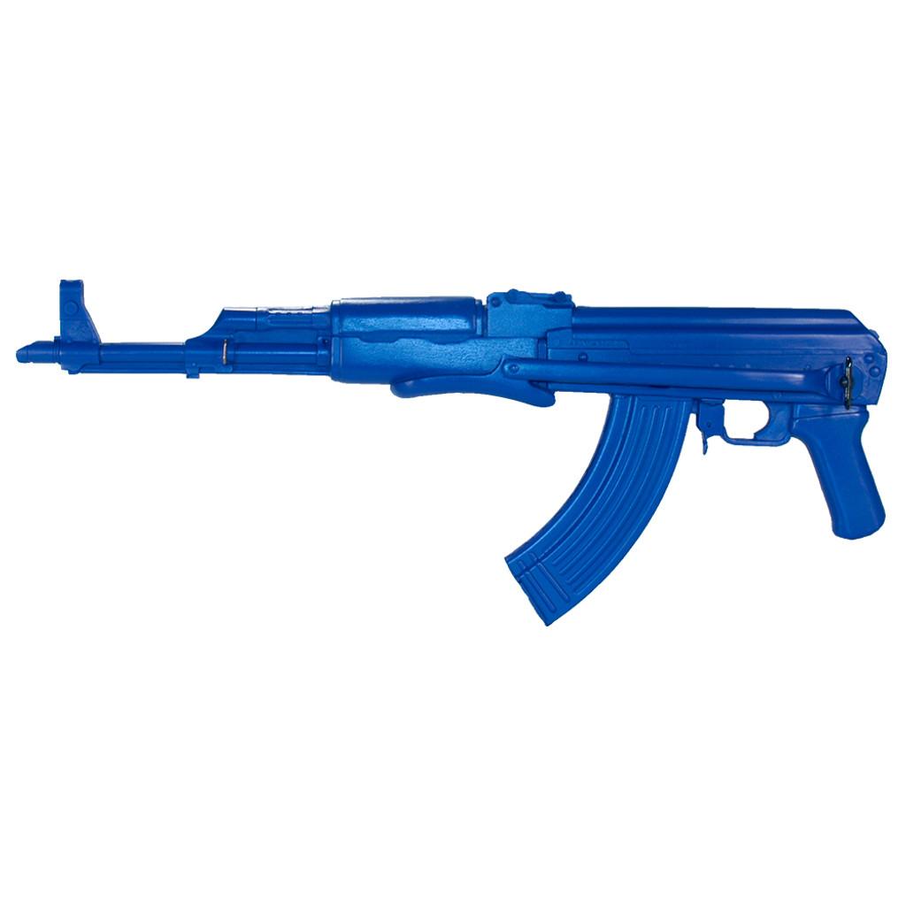 AK47 Folding Stock   Blue Gun