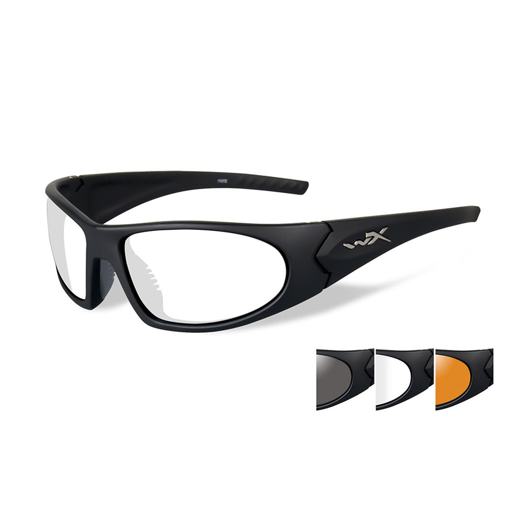 Wiley X Romer 3 | Three Lens w/ Matte Black Frame