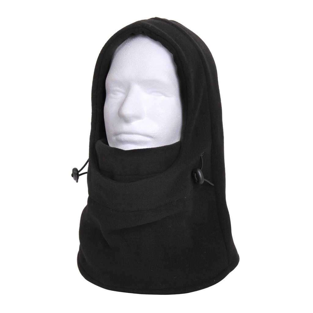 Balaclava Fleece Black