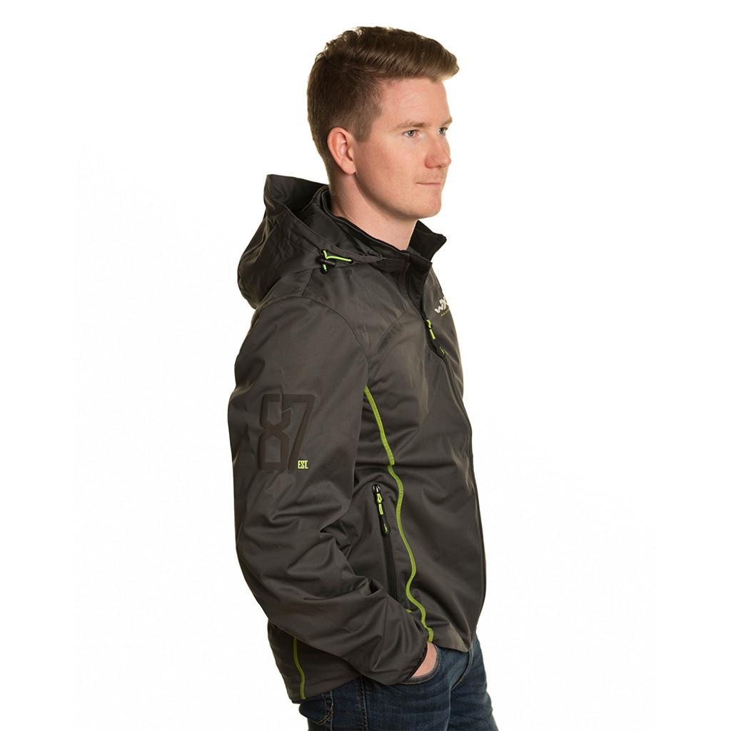 Wiley X Premium Tech Jacket Charcoal w/ Flash Green