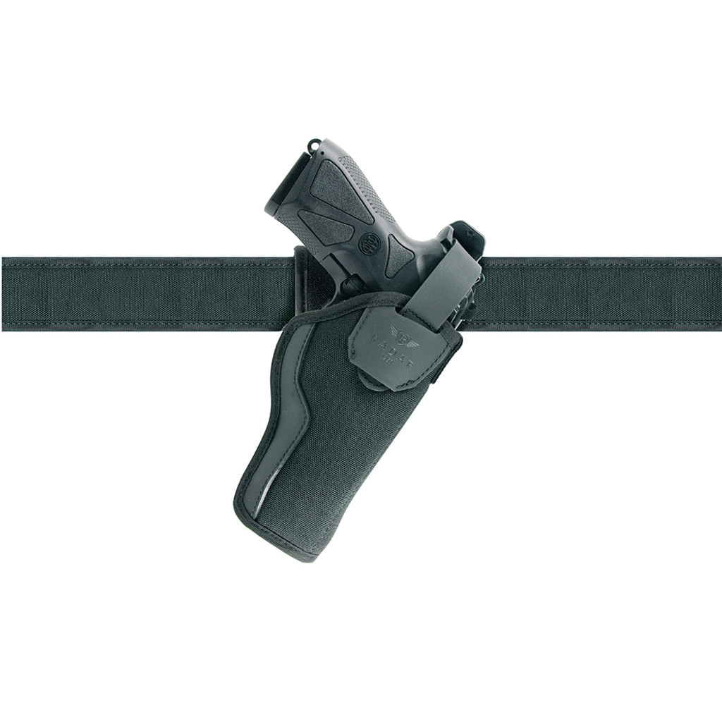 Duty Holster Standard w/ Belt Loop for Beretta Model Black