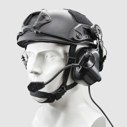 M32H Tactical Communication Hearing Protector for EXFIL Helmet Rails