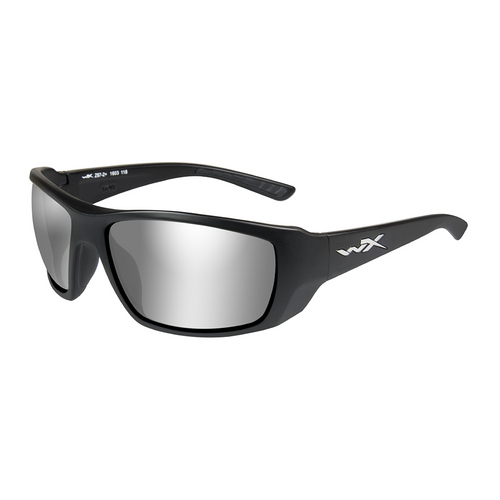 Wiley X Kobe | Silver Flash Smoke Grey lens w/Matte Black Frame