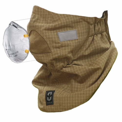 Frontline FR Fire Face Mask - PBI Gold Matrix