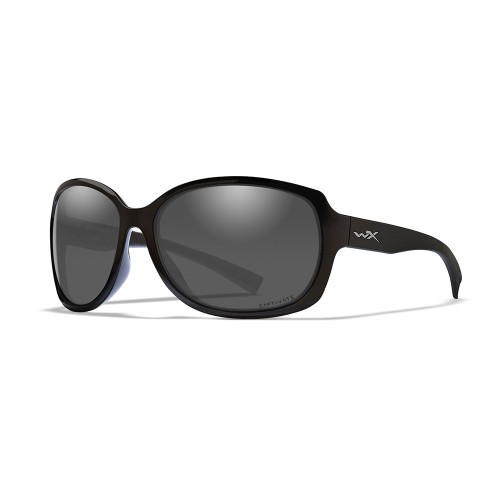 Wiley X Mystique   Captivate Polarised Grey Lens w/ Gloss Black Frame