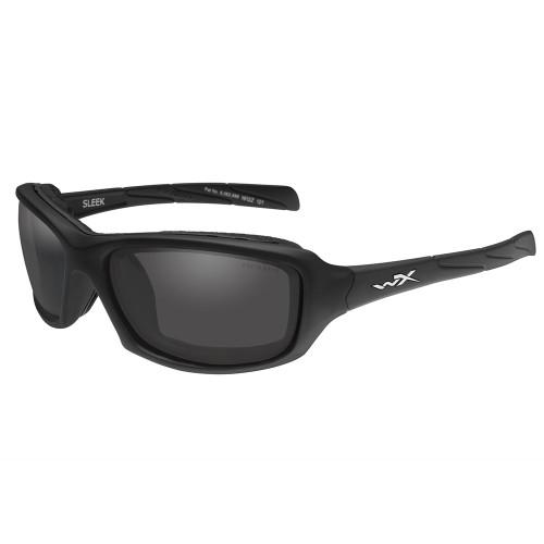 Wiley X Sleek | Smoke Grey Lens w/ Matte Black Frame