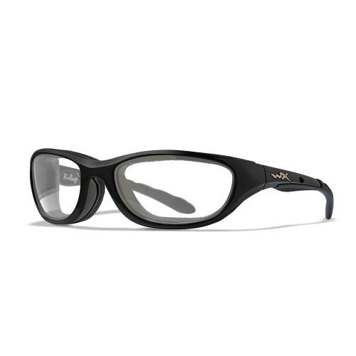 Wiley X AirRage | Clear Lens w/ Gloss Black Frame
