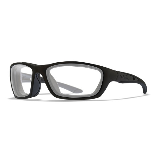 Wiley X Brick | Clear Lens w/ Matte Black Frame