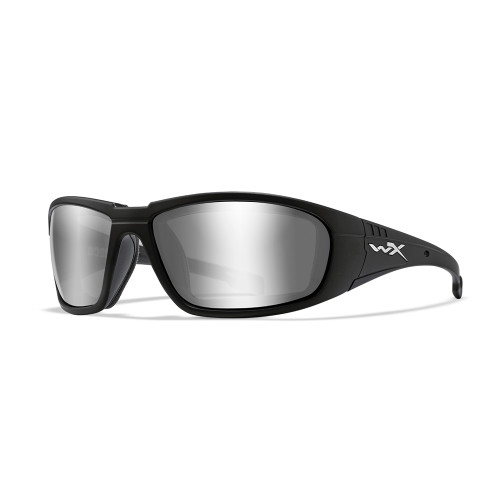 Wiley X Boss | Silver Flash Lens w/ Matte Black Frame