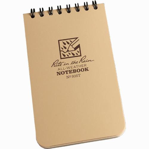 935T Tactical Pocket Notebook Tan