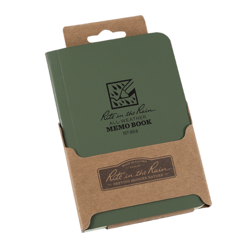 954G Memo Notebook Green