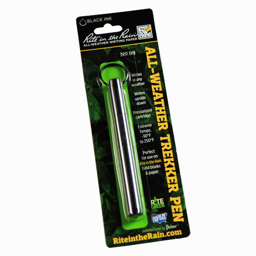 98 Trekker All-Weather Pen Black Ink