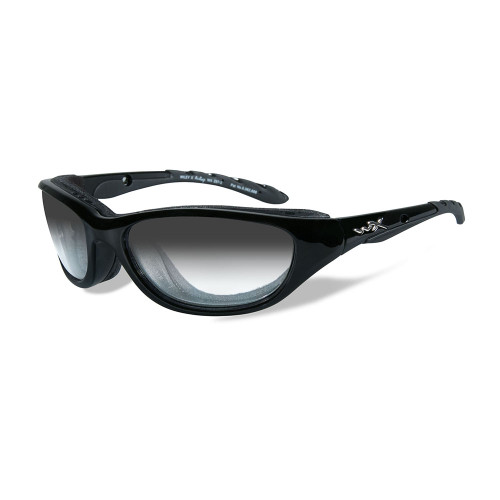 Wiley X AirRage | Light Adjusting Grey Lens w/ Matte Black Frame