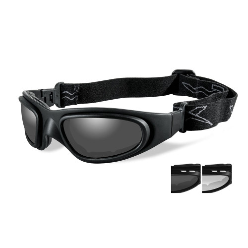 Wiley X SG-1 V-Cut | Two Lens w/ Black Frame